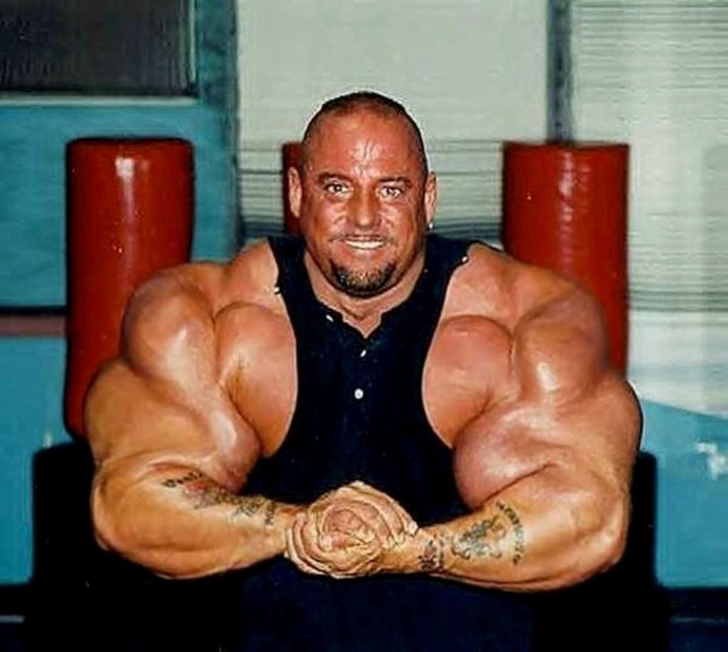 Самая большая мускулатура культуристки 6 фотография