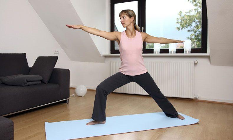 Упражнения для домашнего фитнеса для женщин